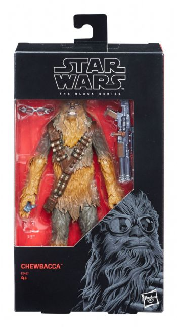 "Star Wars The Black Series Exclusive Solo Chewbacca 6"" Action Figure"